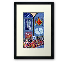 Hedwig and the Angry Inch - Costume Framed Print