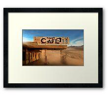 Family Cafe Framed Print