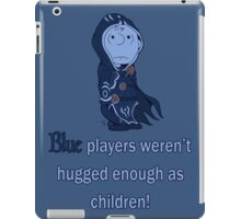 Charlie Brown's a blue player iPad Case/Skin