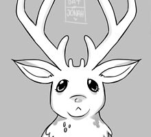 Greyscale Stag  by Datjonah