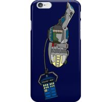 TARDIS in tow iPhone Case/Skin