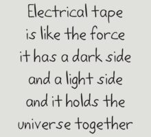 Electrical tape by Tim Everding