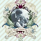 True Love Valentines Card, 2  by Carrie Jackson