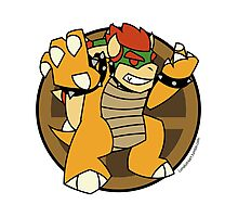 Smash Brothers Original Bowser Photographic Print