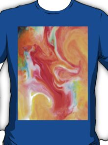 Smudge Paint Abstract #1 T-Shirt