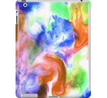 Smudge Paint Abstract #2 iPad Case/Skin