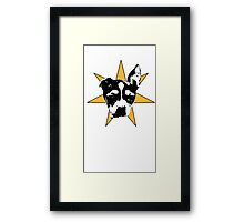 Pipsqueak The Mighty Is a Star Framed Print
