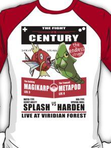 Magikarp vs Metapod - The Fight of The Century T-Shirt
