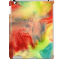 Smudge Paint Abstract #3 iPad Case/Skin