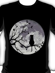 The Cat And The Moon T-Shirt