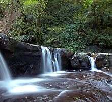 When the Water Flows - Kangaroo Valley, NSW by Malcolm Katon