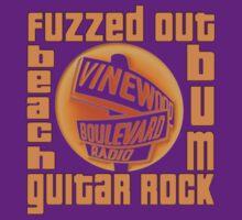 Grand Theft Auto Vinewood Boulevard Radio Fuzzed Design T-Shirt
