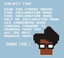 Subject Fire Moss T Shirt Kids Clothes