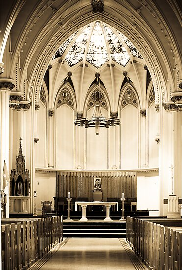 St Mary's Basilica by Shane Shaw