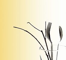 Cutlery in a Vase by Anaa