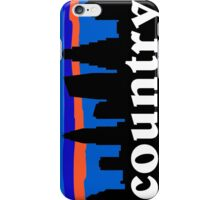 Country music. Austin skyline silhouette iPhone Case/Skin
