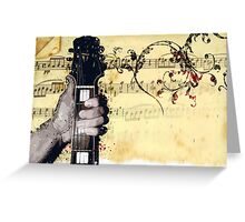 Thumbs Up To Music Greeting Card