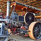 Ruston Tractor by Tamara Valjean