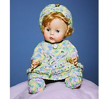 Doll Portrait Photographic Print