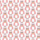 Pink Owl Design by biglnet