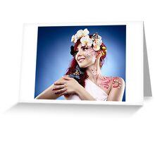 Fantasy makeup Greeting Card