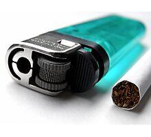 Cigarette & Lighter Photographic Print