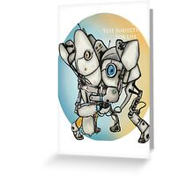 Test Subjects For Life Greeting Card