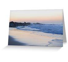 Sunrise, Basham Beach Greeting Card