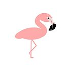 Pink Flamingo Design by biglnet