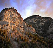 Provo Canyon - Last Rays of Light by Ryan Houston