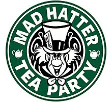 Mad Hatter Tea Party Photographic Print