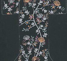 black floral kimono by purplestgirl