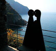 Via dell'amore, Cinque Terre by Monica Di Carlo