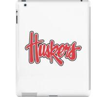 Nebraska Cornhuskers iPad Case/Skin