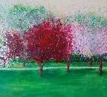 Parkland Blossoms by Susan Duffey