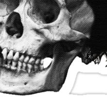 Danny Brown Skull Sticker