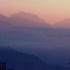 Annapurna Misty Sunrise 2 by Suze Chalmers