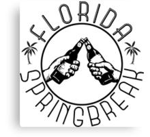 Florida Springbreak Canvas Print