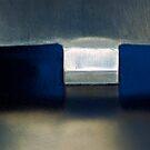 Abstract in blue... by Julian Escardo
