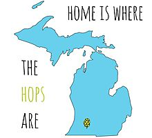 Where the hops are Photographic Print
