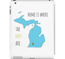 Where the hops are iPad Case/Skin