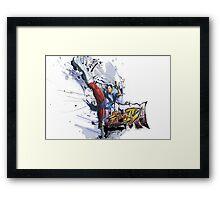 USF4 - Chun Li Framed Print