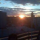 Sunset From Williamsburg by Jeanluc