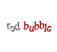 "Red Bubble creative logo by "" RiSH """