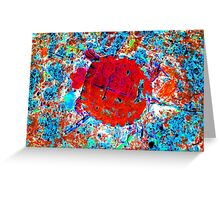 Toddler Turtle Red Greeting Card