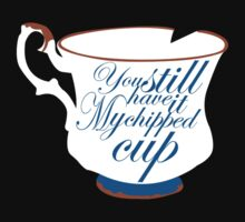 Chipped cup by Kinokocchi