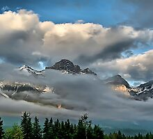 Rocky Mountains - Canmore, Alberta2 by Vickie Emms