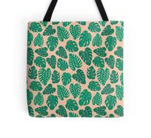 Cheese Plant - Trendy Hipster art for dorm decor, home decor, ferns, foliage, plants Tote Bag
