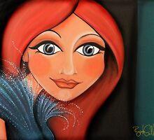 Redhead by blucy