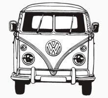Volkswagen VW Bus Van by Cinemadelic